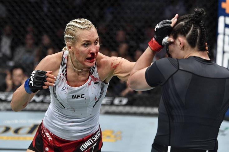 Ирен Алдана нокаутировала Яну Куницкую на UFC 264, обзор боя