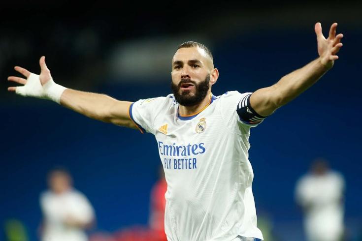 Карим Бензема забил два мяча