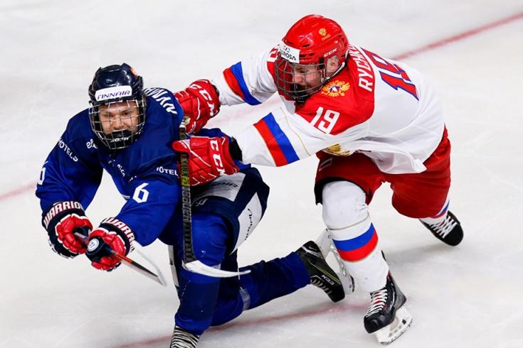 Сборная России обыграла финнов в полуфинале