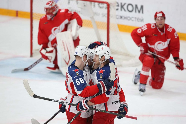 ЦСКА «нарисовал» крутой гол в овертайме! Знарок снова проиграл в дерби