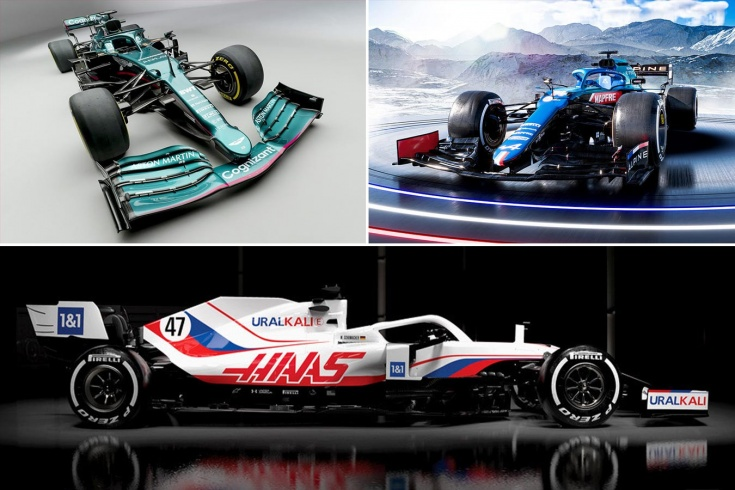 Какая машина Формулы-1 в 2021-м самая красивая? Выбираем лучшую ливрею