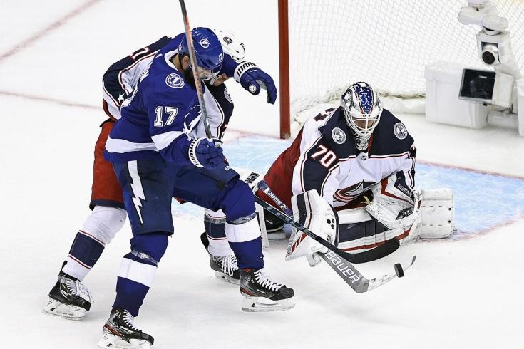 «Тампа-Бэй» — «Коламбус» — 3:2 5ОТ — обзор матча НХЛ, видео лучших моментов, 12 августа 20
