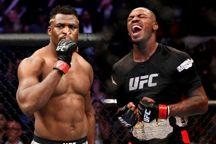 Чемпион в полутяжёлом весе Джон Джонс вызвал на бой Фрэнсиса Нганну, ответ за UFC