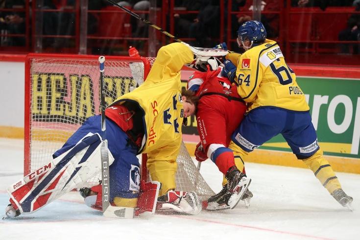 Швеция — Россия — 5:2