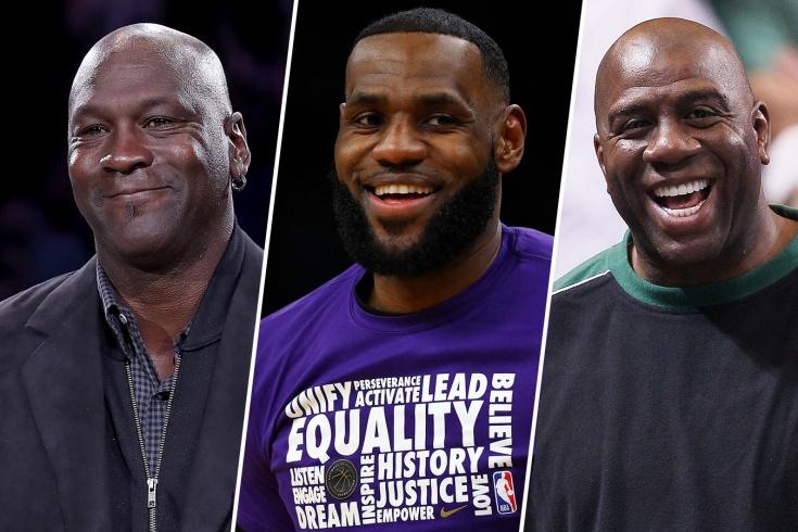 Выбираем лучшего игрока за всю историю НБА