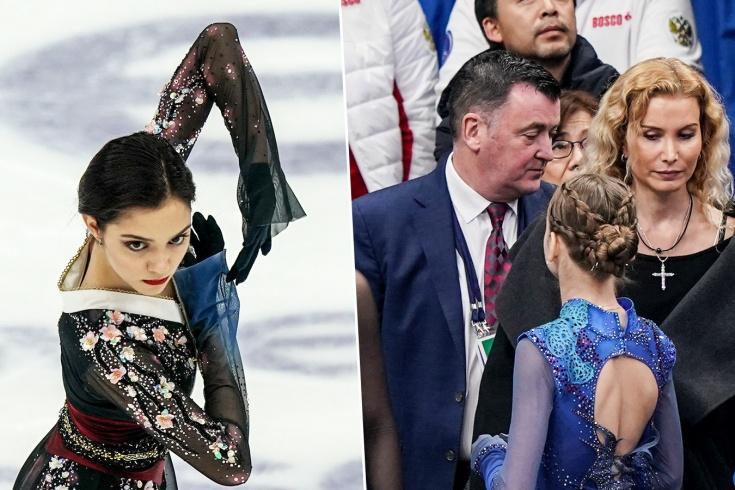 Евгения Медведева, Брайан Орсер и Этери Тутберидзе