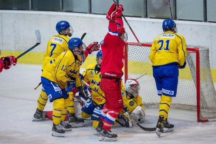 Что творят российские юниоры! Дважды героически спаслись со шведами и вышли в финал