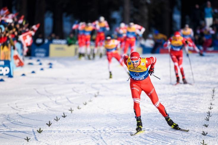 Устюгов выиграл гонку на 15 км на «Тур де Ски», Як