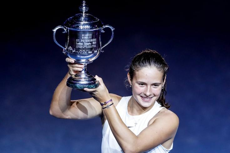 Дарья Касаткина выиграла 4-й титул в карьере и 2-й в России, после Москвы она покорила и Санкт-Петербург
