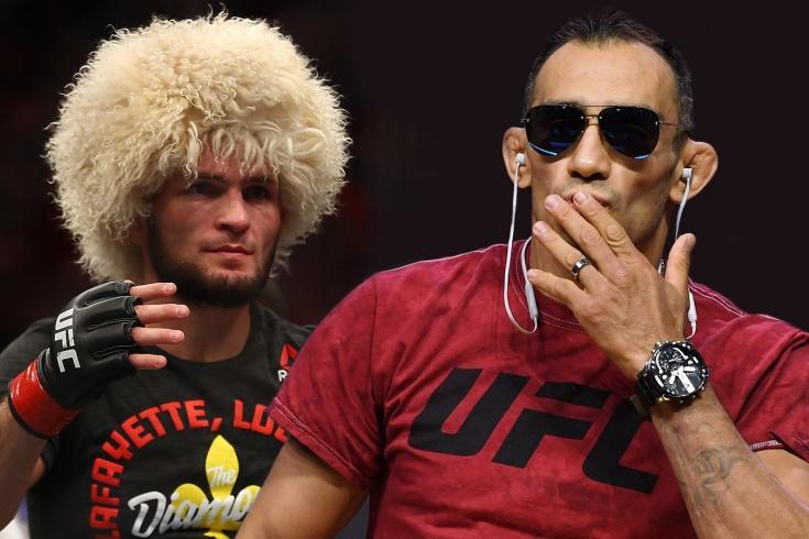 Хабиб Нурмагомедов против Тони Фергюсона, президент UFC объявил о подготовке боя