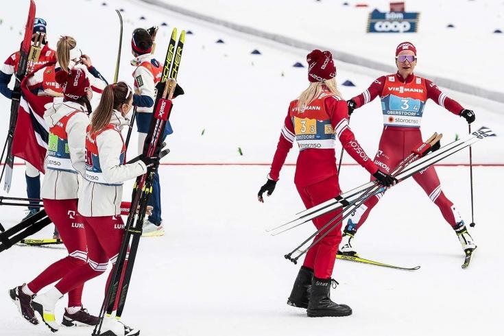 Как наши героические лыжницы сотворили чудо