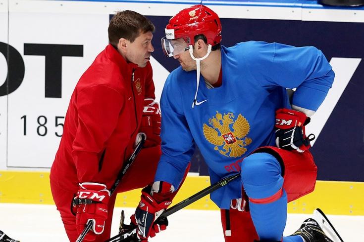Сборная России перед матчем ЧМ против Италии