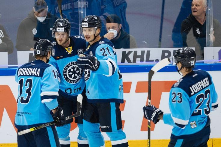 «Сибирь» вытащила матч с 0:3! От провала Новосибирск спасают финны