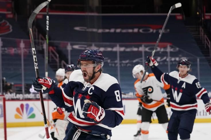 «Вашингтон» — «Филадельфия» — 6:1, видео, голы, обзор матча чемпионата НХЛ