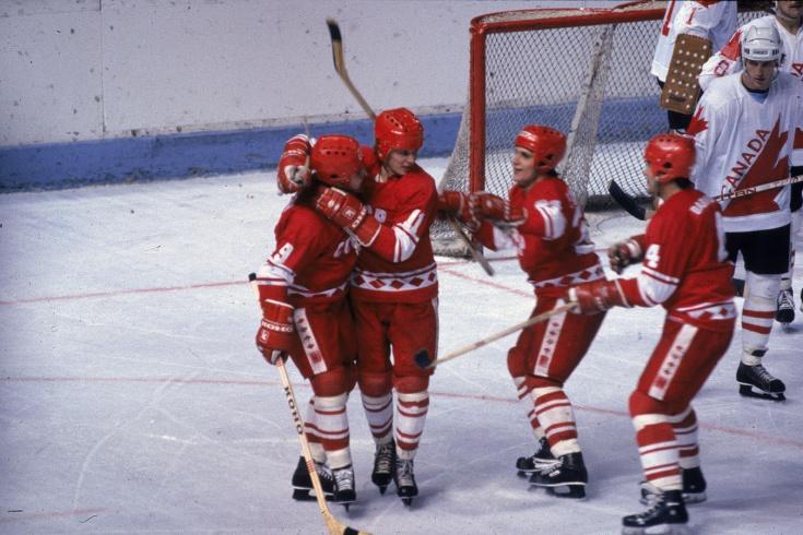 «СССР за серп играет лучше, чем НХЛ за деньги». Разгромные 8:1 в финале Кубка Канады