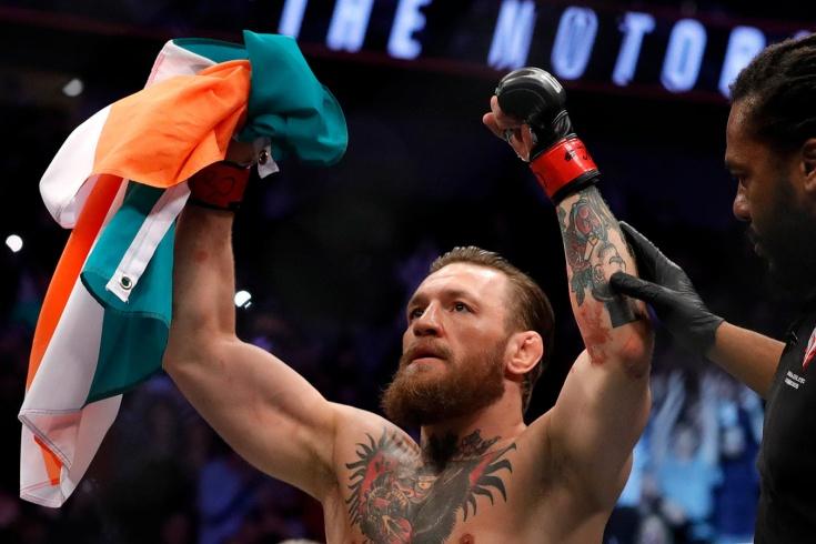 Макгрегор отыграл два места в сводном рейтинге UFC