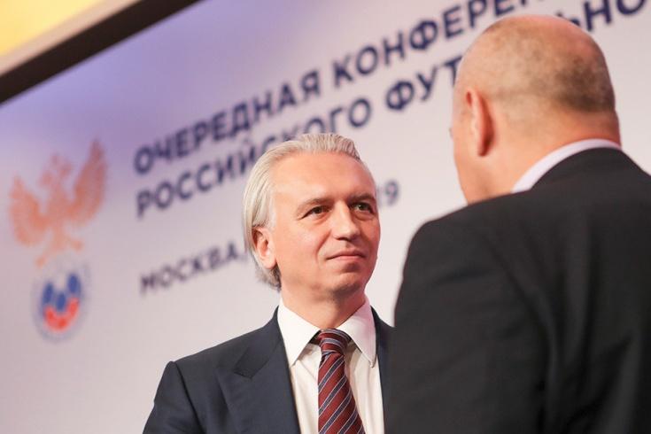 Президент РФС Александр Дюков, пресс-конференция