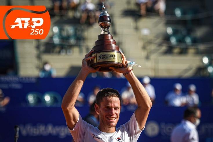 Диего Шварцман победил на турнире ATP-250 в Буэнос-Айресе, братья Серундоло сыграли два финала подряд, видео