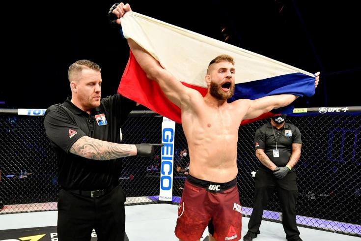 UFC Vegas 25: Доминик Рейес vs Иржи Прохазка — дата боя, трансляция, где смотреть бой Рейес — Прохазка, 2 мая 2021