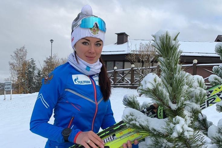 Биатлонистка Лариса Куклина