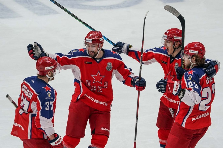 ЦСКА — «Локомотив» — 2:0, второй раунд плей-офф КХЛ, сезон-2020/2021, отчёт и видео
