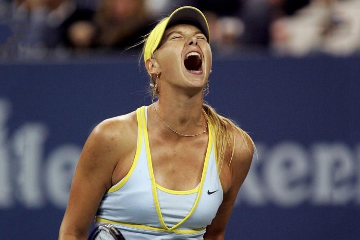 За что Марию Шарапову назвали одной из самых крикливых теннисисток