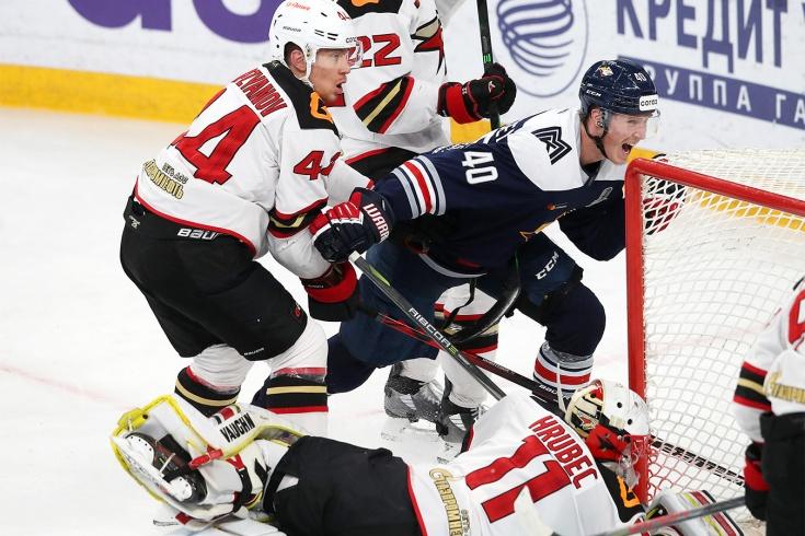«Металлург» — «Авангард» — 7:1, видео, голы, обзор матча плей-офф КХЛ – 2021
