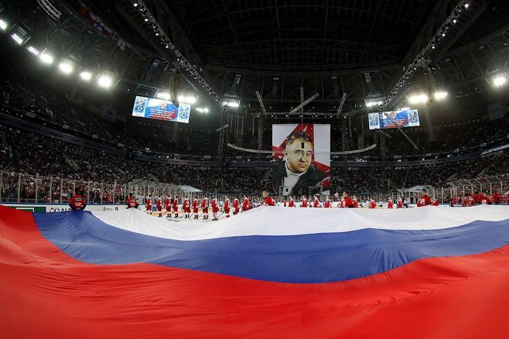 Хоккей на «Газпром-Арене» был легендарный