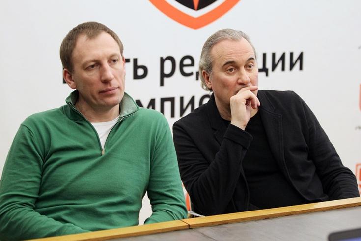 Александр Черных и Юрий Николаев
