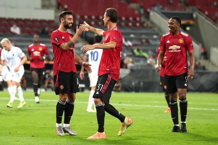 «Манчестер Юнайтед» был на грани провала в Европе! Датчане заставили его играть 120 минут