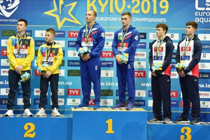 Чемпионат Европы по прыжкам в воду в Киеве 2019
