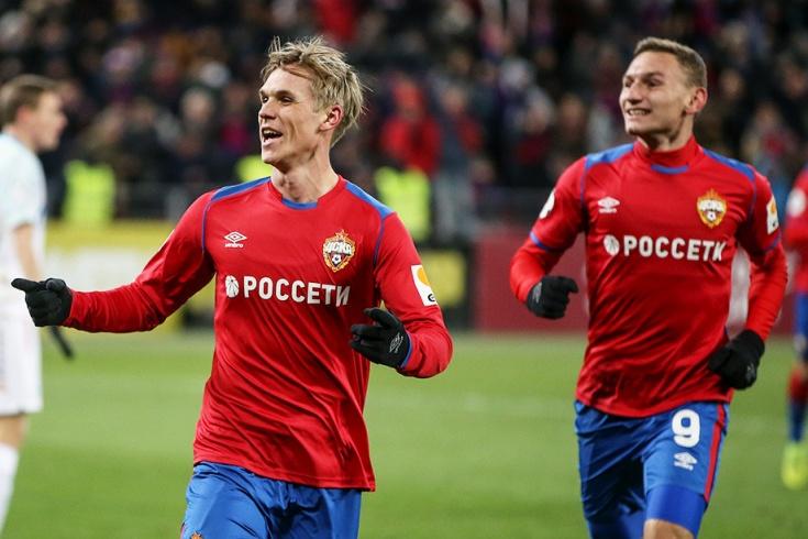 ЦСКА – «Зенит» – 2:0