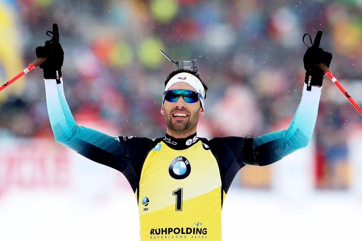 Биатлонист Мартен Фуркад выиграл последнюю гонку Кубка мира в карьере