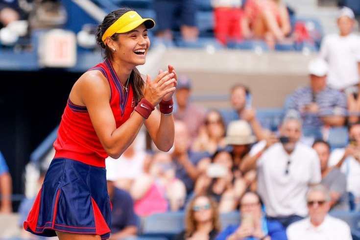18-летняя квалифаер Эмма Радукану сенсационным образом вышла в четвертьфинал US Open — 2021