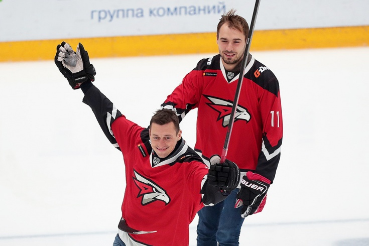 Александр Легков и Антон Шипулин