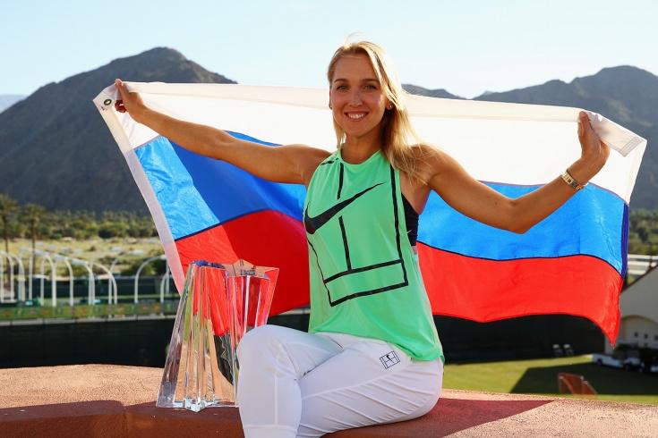 Елена Веснина – олимпийская чемпионка в парном разряде. Чем она сейчас занимается. Фото