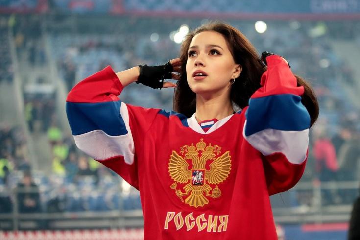 Как Алина Загитова связана с хоккеем