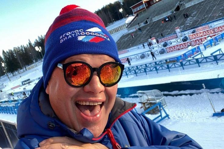 Дмитрий Губерниев уверен, что Россия выиграет три медали на чемпионате мира по биатлону