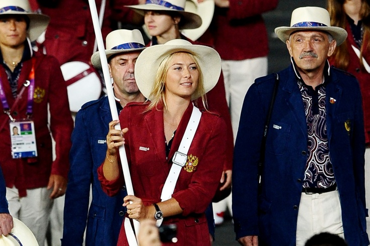 Мария Шарапова на Олимпиаде-2012