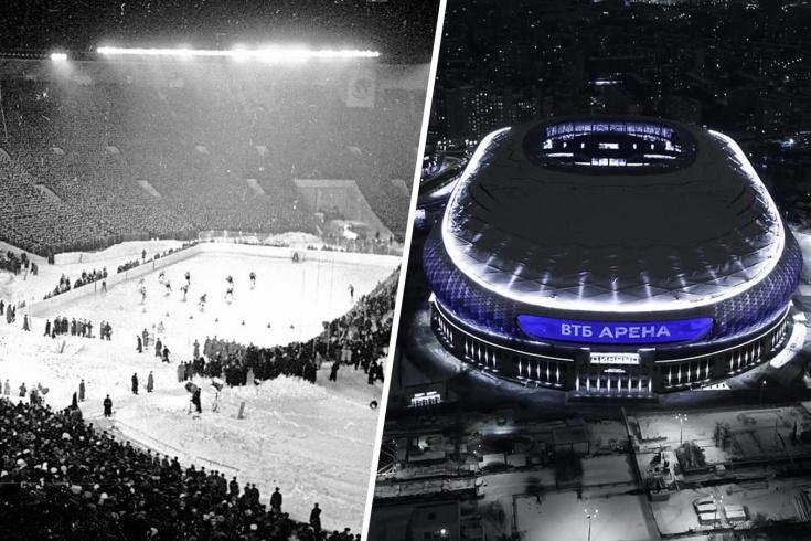 История стадионов клубов КХЛ