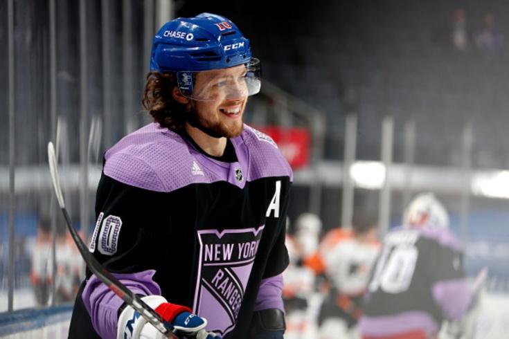 «Рейнджерс» — «Филадельфия» — 4:5 ОТ, видео, голы, обзор матча регулярного чемпионата НХЛ