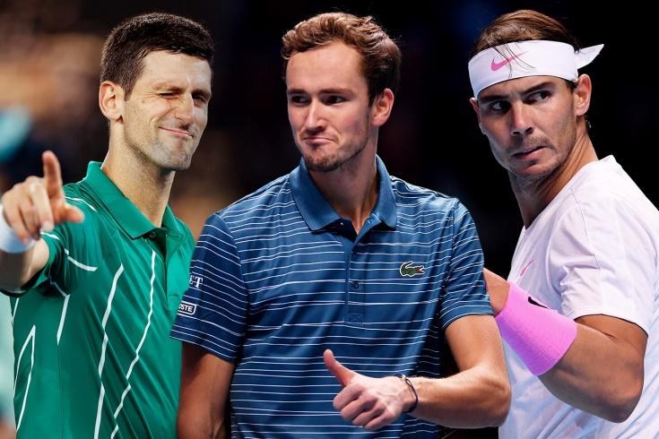 Планы Надаля, Джоковича, Медведева, Тима, Кирьоса на «Ролан Гаррос» и US Open