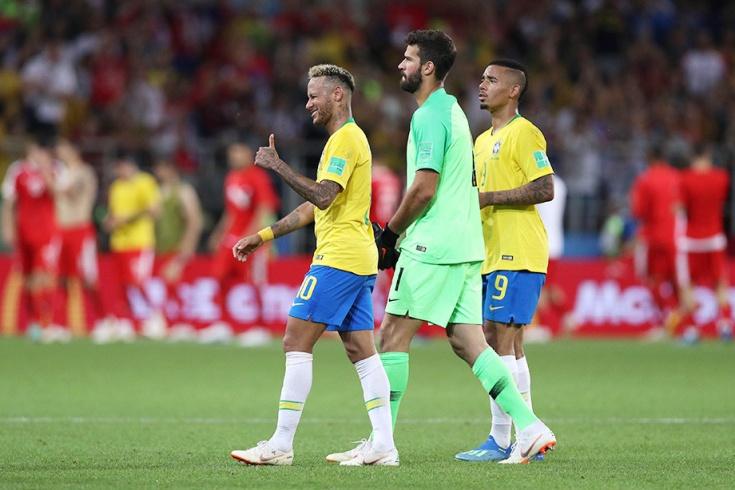 Сербия — Бразилия — 0:2