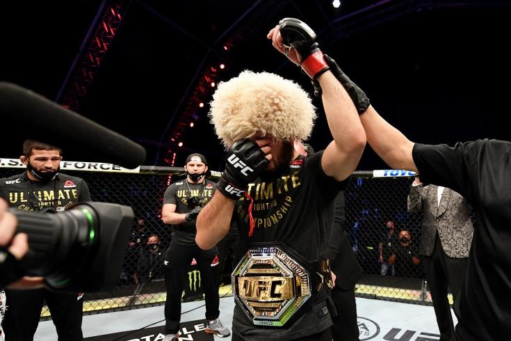 Хабиб — Гэтжи: результат боя UFC 254, кто победил
