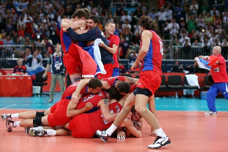 Великая победа России над Бразилией на ОИ-2012