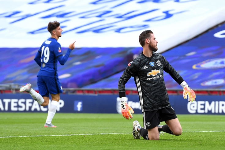 De Gea's two mistakes knocked Manchester United out of the FA Cup