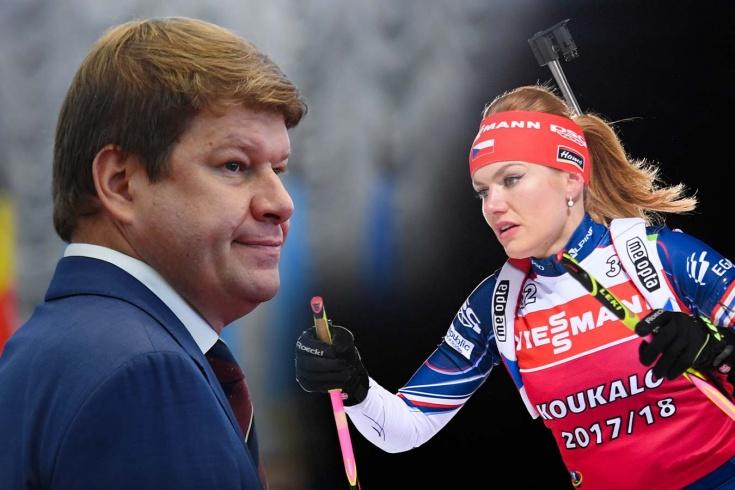 Губерниев рассказал, почему не хочет смотреть на откровенные снимки биатлонистки Габриэлы Коукаловой