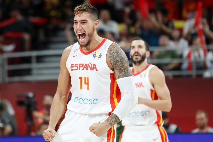 Сборная Испании — чемпион мира по баскетболу