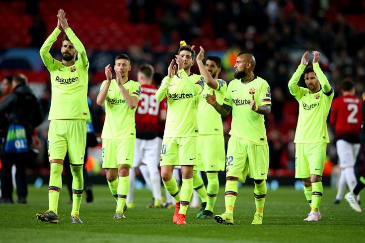 «Манчестер Юнайтед» — «Барселона» — 0:1