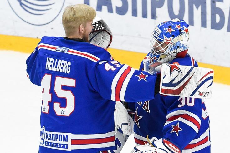 Магнус Хелльберг и Игорь Шестёркин